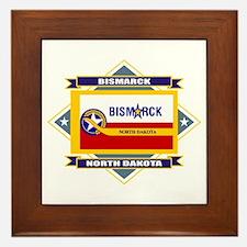 Bismarck Flag Framed Tile