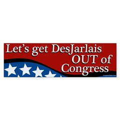 Get DesJarlais Out Of Congress bumper sticker