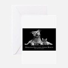 Operation Education Animal Re Greeting Card