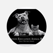 "Operation Education Animal Re 3.5"" Button"