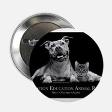 """Operation Education Animal Re 2.25"""" Button (10 pac"""