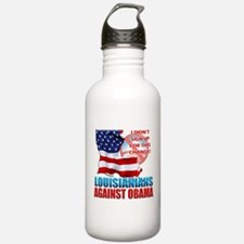 Louisianians Against Obama Water Bottle