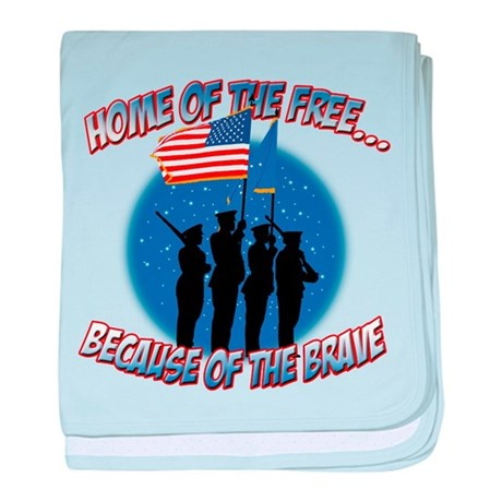 Home of the Free, Because of baby blanket