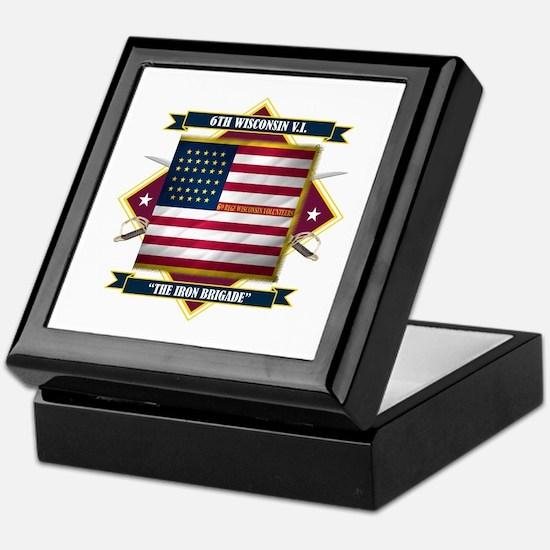 6th Wisconsin V.I. Keepsake Box