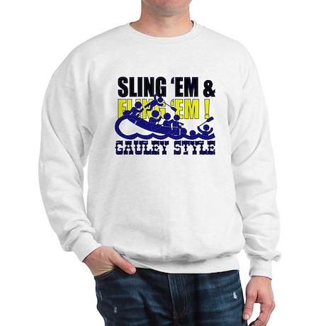 Sling 'Em Sweatshirt