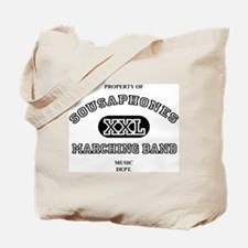 Property of Sousaphones Tote Bag