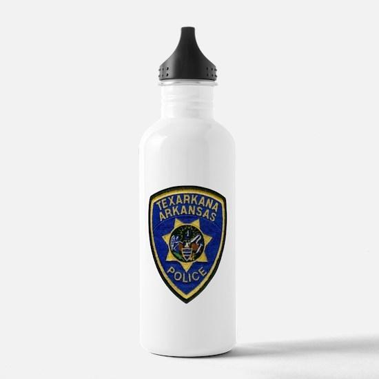 Texarkana Police Water Bottle