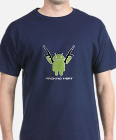 Android Packing Heat T-Shirt