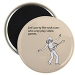Party Like Rock Stars Magnet
