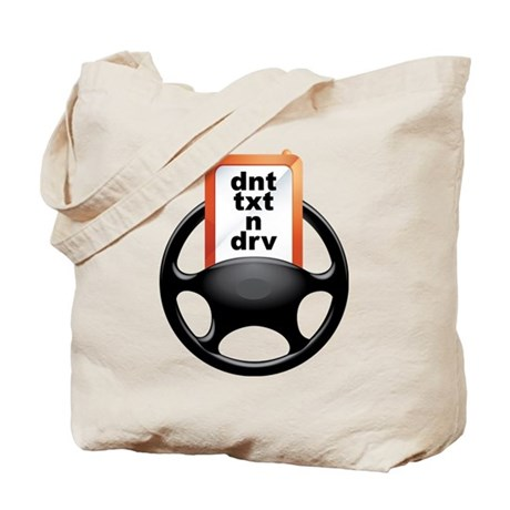 dnt txt n drv wheel Tote Bag
