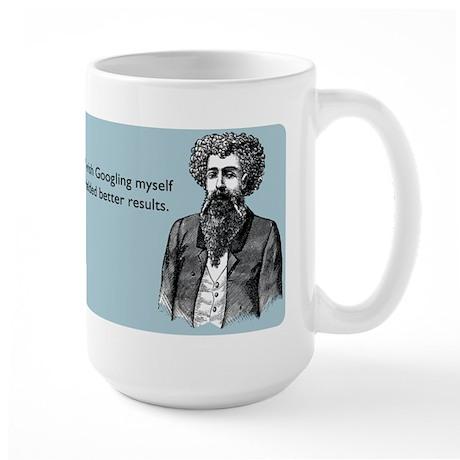 Googling Myself Results Large Mug