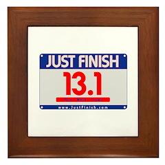 13.1 - Just FINISH bib Framed Tile