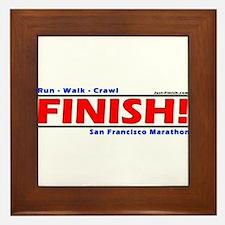 Just finish Framed Tile