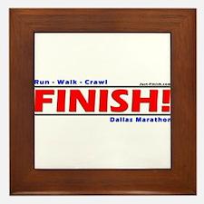 Cool Just finish Framed Tile