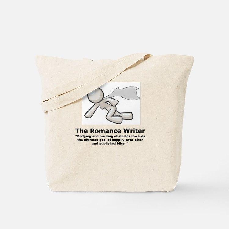 Cute Writer romance Tote Bag