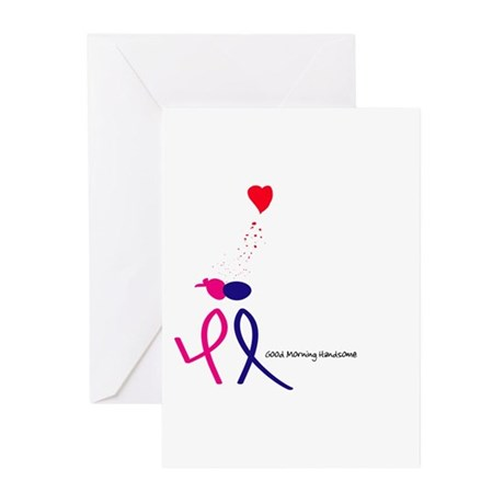 Good Morning handsome! Greeting Cards (Pk of 10)