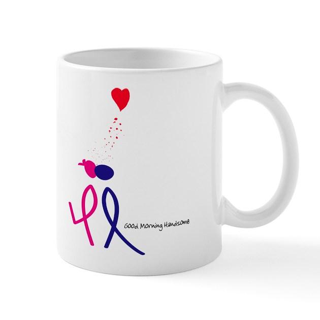 Good Morning Handsome Mug : Good morning handsome mug by designsbyjinnie