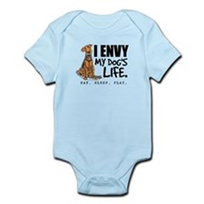 Airedale Terrier Funny Infant Bodysuit