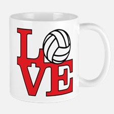 Volleyball Love - Red Mug