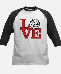 Volleyball Love - Red Tee