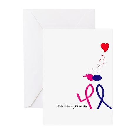Good Morning Beautiful Greeting Cards (Pk of 20)