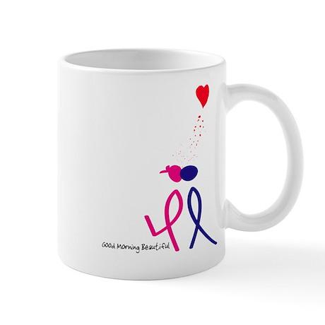 Good Morning Beautiful Mug By Designsbyjinnie