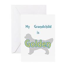 Golden Grandchild Greeting Card