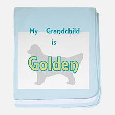 Golden Grandchild baby blanket