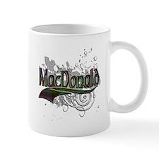 MacDonald Tartan Grunge Mug