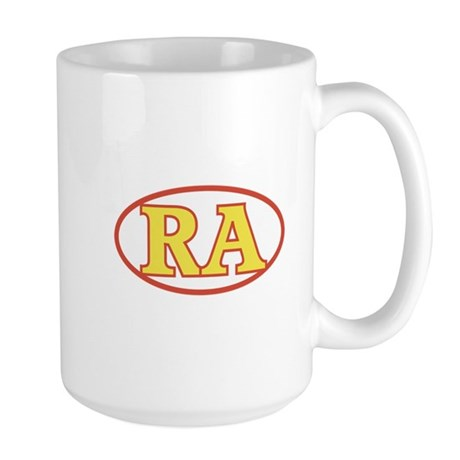 RA Large Mug