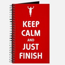 Keep Calm and Just Finish Journal
