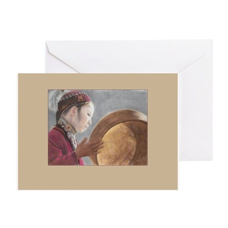 Daughter Of The Moon-Greetingcards Greeting Cards
