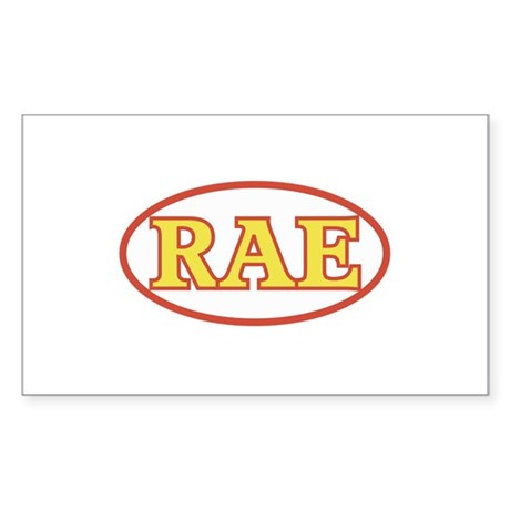 RAE Sticker (Rectangle)
