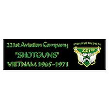 221st RAC Bumper Sticker