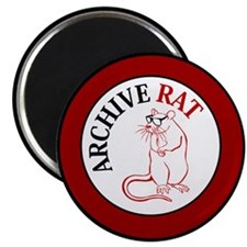 Archive Rat (V3) Magnet