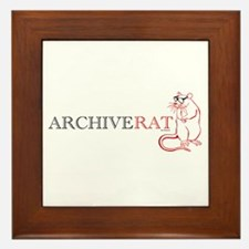Archive Rat (V3) Framed Tile