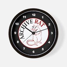 Archive Rat (V3) Wall Clock