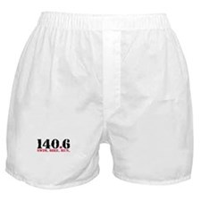 140.6 Swim Bike Run Boxer Shorts