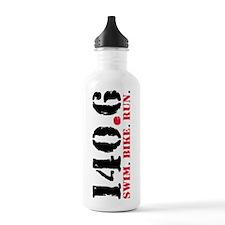 140.6 Swim Bike Run Water Bottle