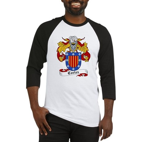 Cortez Coat of Arms Baseball Jersey