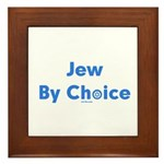 Jew By Choice Framed Tile