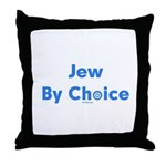 Jew By Choice Throw Pillow