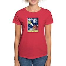 A Signal From Mars Women's Dark T-Shirt
