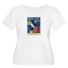 A Signal From Mars Women's Plus Size Scoop Neck T-