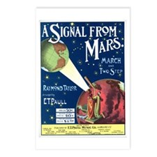 A Signal From Mars Postcards (Package of 8)