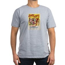 The Mardi Gras Men's Fitted T-Shirt (dark)