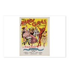 The Mardi Gras Postcards (Package of 8)