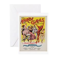 The Mardi Gras Greeting Card