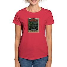 Dance of the Fire-Flies Women's Dark T-Shirt