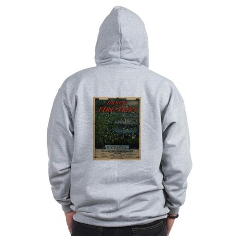 Dance of the Fire-Flies Zip Hoodie